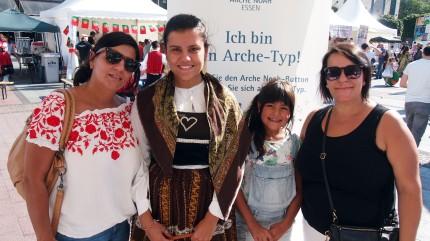 Susana Dias, Eva Dias, Laura Dias und Sandra Dias (v.l.) Foto: Sonja Strahl