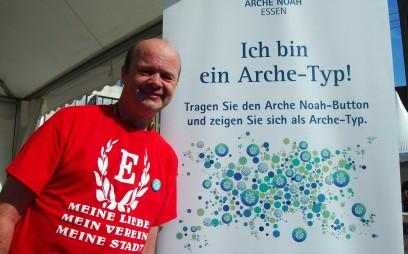 """Klaus-Dieter Nagel, Essen """"Ich bin ein Arche-Typ, weil ich die Arche sehr gut kenne und ihren Weg schon lange verfolge."""" Foto: Sonja Strahl"""