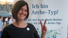 """Pınar Çakmak, Gelsenkirchen """"Ich bin ein Arche-Typ, weil wir globel denken müssen!"""" Foto: Sonja Strahl"""
